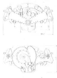 original print of v16 bugatti t67 aero engine design from 1939 though no detail drawings are available some info be taken from the drawing obviously each bank had twin overhead cams unknown is if there are 2 or 4