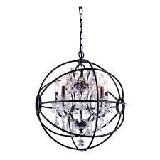 brushed nickel orb chandelier medium size of orb crystal chandelier restoration hardware black orb chandelier crystal