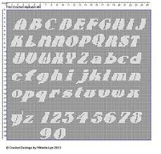 Ravelry Alphabet 4 Pattern By Viktoria Lyn