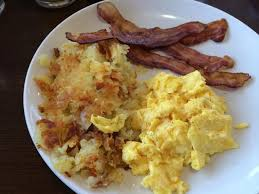 Image result for eggs, hash browns and bacon pictures