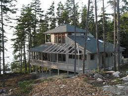 house plans for homes built into a hill ideas