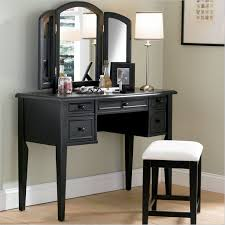 vanity with fold down mirror home furniture design ideas of black wood vanity designed with beautiful home furniture ideas vintage vanity