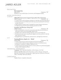 Awesome How To List Double Major On Resume Pictures - Simple .