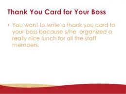 Thank You Note To Boss For Gift Template Business