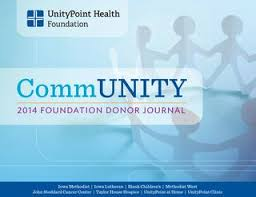 UnityPoint Health Foundation 2014 Donor Journal by UnityPointHealth - issuu