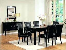 Dining Room Table Sets Leather Chairs Collection New Inspiration