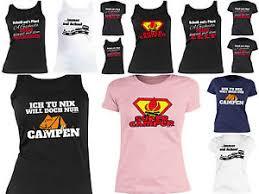Damen Camping Sprüche T Shirt Damenshirt Camping Bekleidung