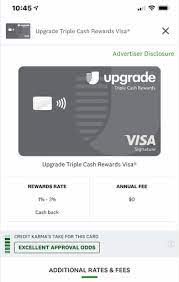 We did not find results for: New Upgrade Triple Cash Rewards Visa Card Myfico Forums 6292575