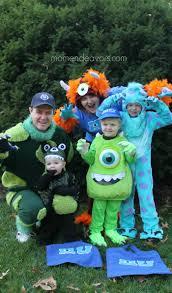 diy family monsters costume