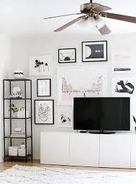 Tidy Decorating Walls 35 Tidy And Stylish IKEA Besta Units Home