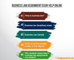 we provide online assignment help on business law assignments and we provide online assignment help on business law assignments and essays completed by the most