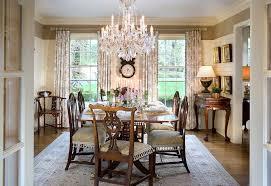 traditional dining room wall decor ideas. Farmhouse Dining Room Chandelier Traditional With Window Treatments Wall Art Crystal Decor Ideas E