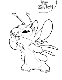 Stitch Coloring Pages Lilo Stitch Coloring Page Coloring Page Free