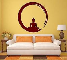 Small Picture Buddha Yoga Meditation Wall Decals Wallstickers4you