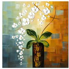 beauty of life 100 hand painted modern flower artwork abstract fl oil paintings on