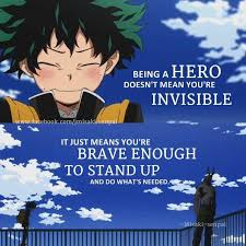 Hero Quotes Stunning My Hero Academia Favorite Quotes Anime Amino