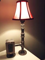 awful table lamp with and usb caper tray table floor lamp with usb port and
