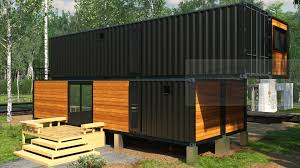 s3da design fulfilled a shipping container home design project in iowa the client had asked for a two story 2 bedroom design with open floor e and