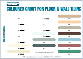 Floor And Decor Grout Color Chart Grout Colors Grey For White Tiles Color Rialto Tile Mapei