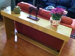 Sofa Table Diy Diy Simple Sofa Table