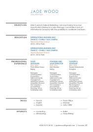 Good Resume Template Warm Resume Mycvfactory