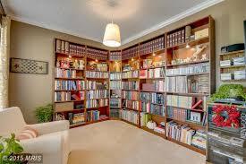 Contemporary Library with Dania Royal Bookcase, Built-in bookshelf, Dania  Royal Inside Corner