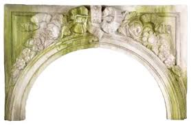 victorian arch 34 architectural over door plaques