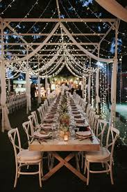 lighting ideas for weddings. fairy lights incredible outdoor wedding reception in bali with hanging florals u0026 stylish lighting ideas for weddings