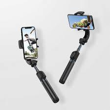 Yuemi One-Axis <b>Gimbal Stabilizer bluetooth</b> Remote Control Selfie ...