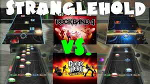 Rock Band 4 Vs Guitar Hero World Tour Chart Comparison Stranglehold By Ted Nugent