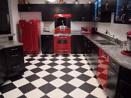 Retro Style Kitchen Appliance Kitchen Style Modern Retro Style Kitchen Black Matte Cabinets