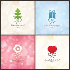 Christmas Birthday Cards Set Of Holiday Greeting Cards Christmas Birthday Valentines