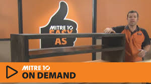 Mitre 10 Mega Kitchen Cabinets How To Build A Tv Cabinet Mitre 10 Easy As Youtube
