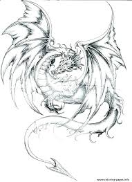 free printable dragon coloring pages for adults. Simple Adults Printable Dragon Coloring Pages Print Free   In Free Printable Dragon Coloring Pages For Adults