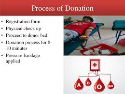 jincey jose shraddha bhatt richa tupsakhare blood donation camp proje  19 20 process of donation