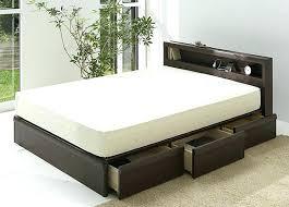 California King Bed Frame With Drawers Platform King Bed Frames ...