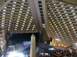 inside the Luxor at Las Vegas