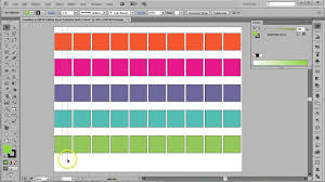 Adobe Cmyk Color Chart Cmyk Palette From Pantone Swatches In Adobe Illustrator