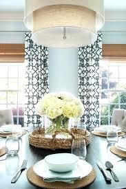 black and white trellis curtains in smith fabric linen drum pendant lighting lights linen drum pendant