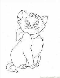Small Picture Cat Coloring Pages 2 Full Coloring Page Free Cat Coloring Pages