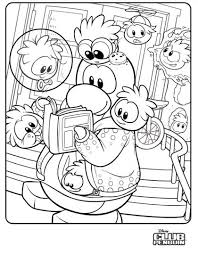 Small Picture penguin coloring pages