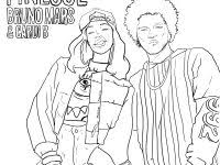 Girls Page Free Printable Bruno Mars People Coloring Pages Tumblr