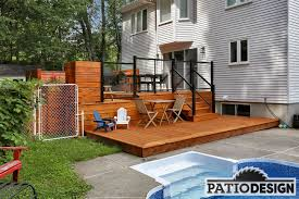 wood patio with pool. Wood Patio By Design Inc. With Pool I