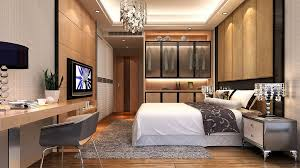 modern bedroom with tv. Modern Bedroom Tv Wall And Window Interior Design With