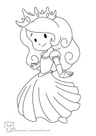 Coloriage Princesse Colorier Dessin Imprimer Stann