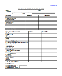 expense sheet 32 expense sheet templates in pdf free premium templates