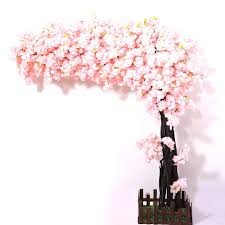 Fake Cherry Blossom Tree With Lights Amazon Com J Beauty Artificial Cherry Blossom Tree Thick