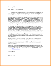 Sample Resume Cover Letter To Whom It May Concern New Cover Letter