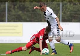 enter caption here>> at Sportpark Froehnerhof on April 29, 2018 in ...