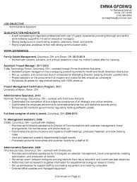 Executive Assistant Resume Templates Mesmerizing Resume Templates For Office Assistant Administrative Coordinator